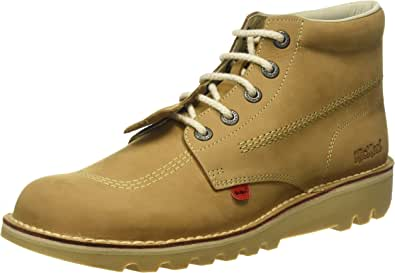 Kickers Kick Hi Core, Botas para Hombre, Marrón (Tan), 47 EU: Amazon.es: Zapatos y complementos