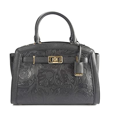 5bf219209d638e Image Unavailable. Image not available for. Color: Michael Kors Karson  Large Black ...