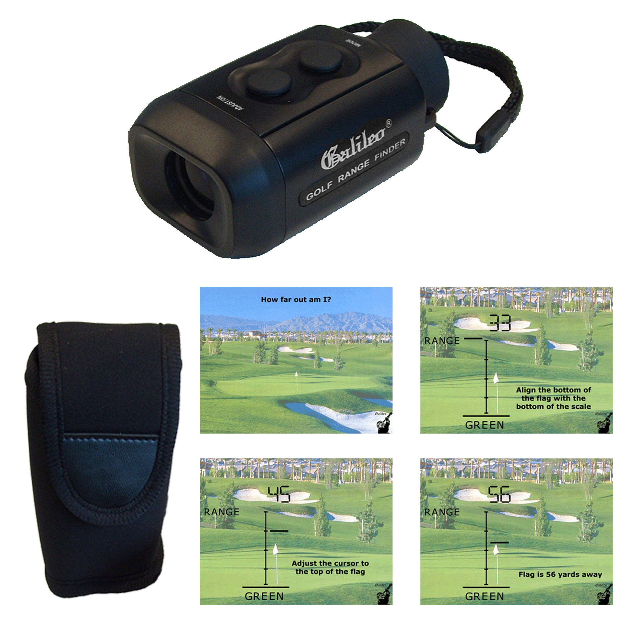 Galileo EGS-1 Electronic Golf Scope and Rangefinder by Galileo (Image #1)