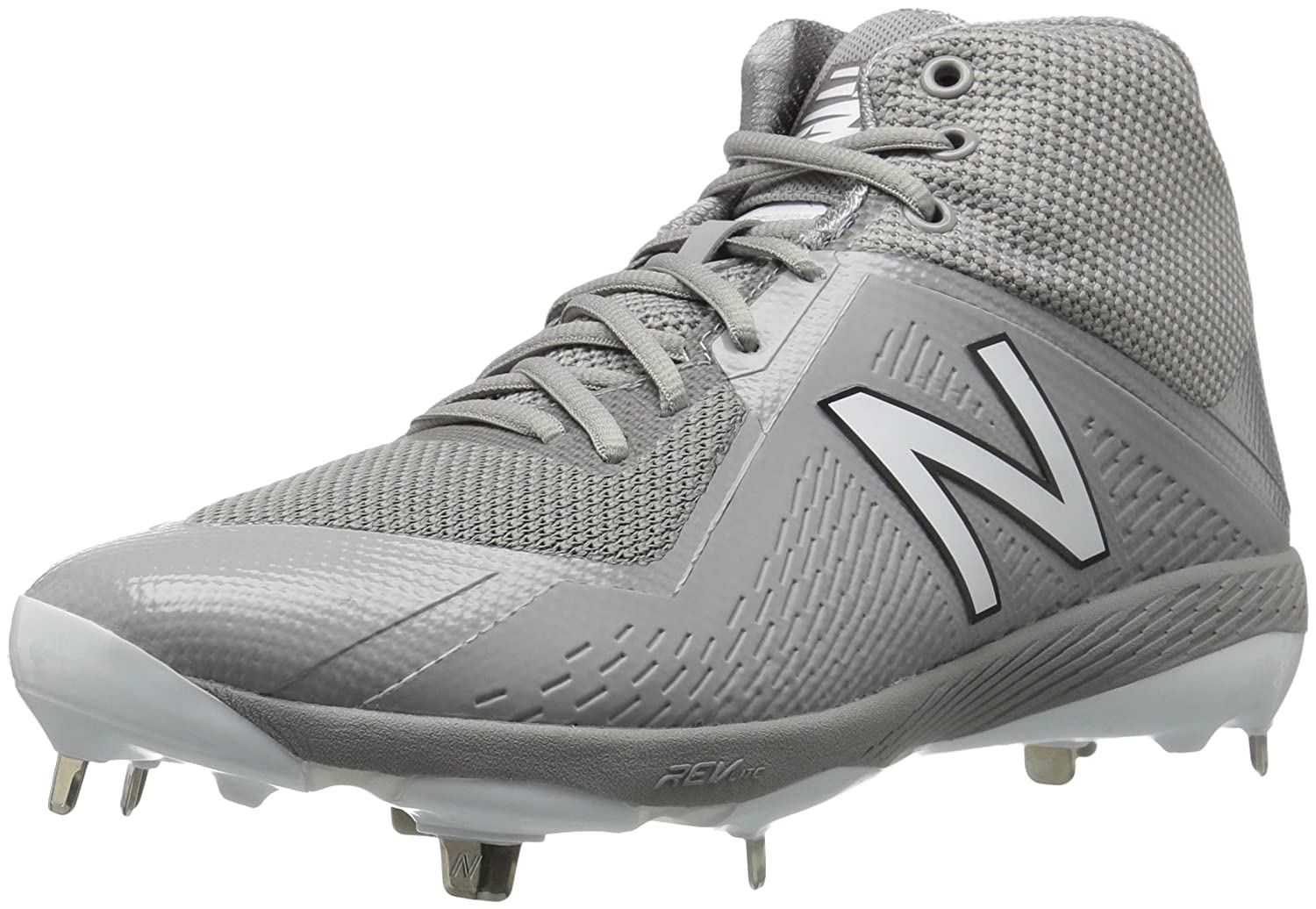 New Balance Men's M4040v4 Metal Baseball Shoe B01MTQ8KL4 15 2E US|Grey