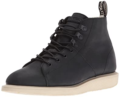 Dr. Martens Women's Les Fl Chukka Boot, Black, 3 UK/5 M