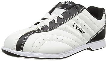 Homme Dexter Blancnoir Groove Bowling Pour Chaussures Larges De E2ID9H