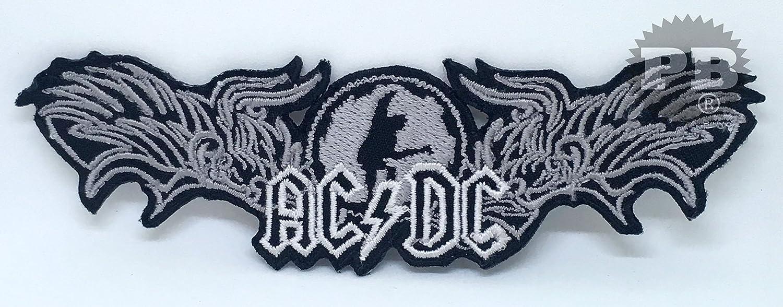 #1315 /Écusson brod/é  /«AC//DC/» /à coudre ou /à thermocoller