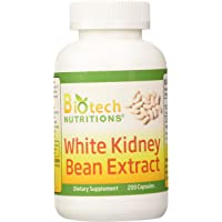 Biotech Nutritions White Kidney Bean Extract, 200 Count