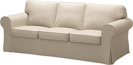 Amazon.com: IKEA funda de sofá para Ektorp, nordvalla Beige ...