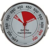 Trenton Gifts Wireless Grate Top Grill Surface Clip On Thermometer
