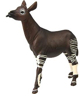 Amazoncom Wild Republic Okapi Plush Stuffed Animal Plush Toy