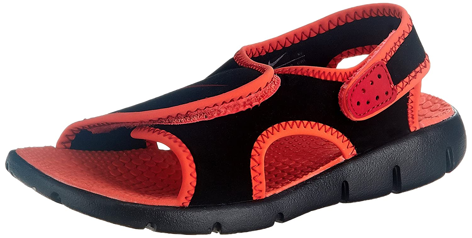 Nike Boy's Sunray Adjust 4 Black, Gym Red and Bright Crimson Sandals and  Floaters - 12.5 kids UK/India (31 EU) (13C US): Buy Online at Low Prices in  India ...