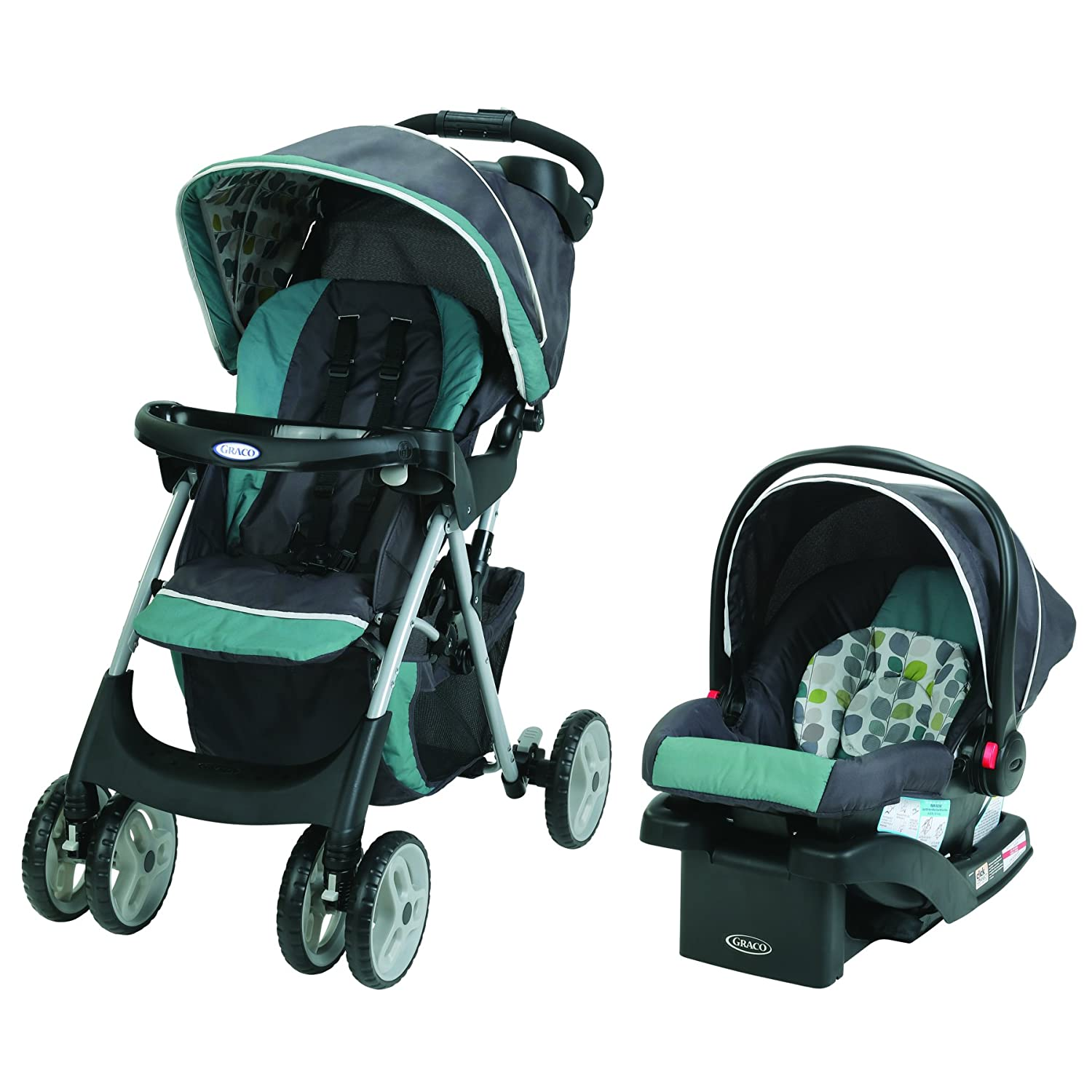 Graco Comfy Cruiser Click Connect Travel System with SnugRide Click Connect 30 - Boden, Grey 1972901