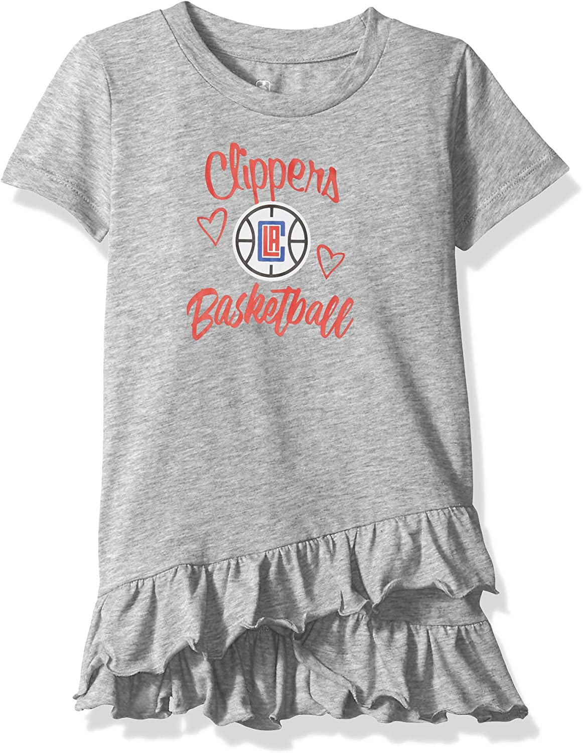 NBA by Outerstuff NBA Newborn /& Infant Claim to Fame Ruffle Dress