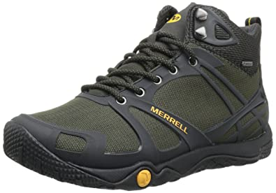 4b517a8e3a1c Merrell Men s PROTERRA MID SPORT GTX High Rise Hiking Shoes Grey Size  7