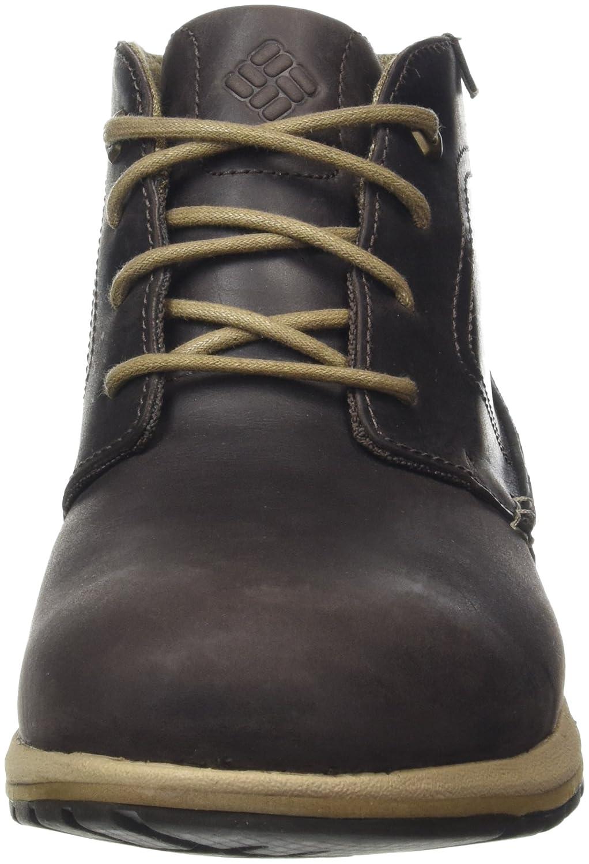 Columbia Herren Davenport Oxford Chukka Waterproof Leather 1707571 Oxford Davenport Braun, Gelb (Cordovan, Prairie Sand) e22e2e