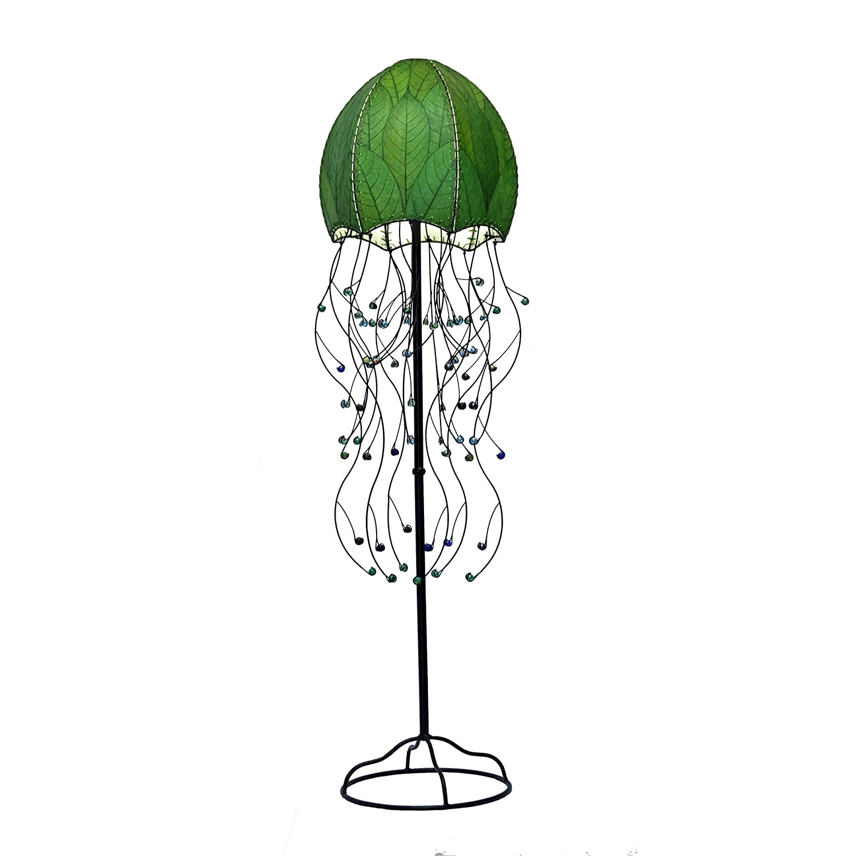 Eangee Home Designs 399 G 2 Light Jellyfish Floor Lamp - Jellyfish ...