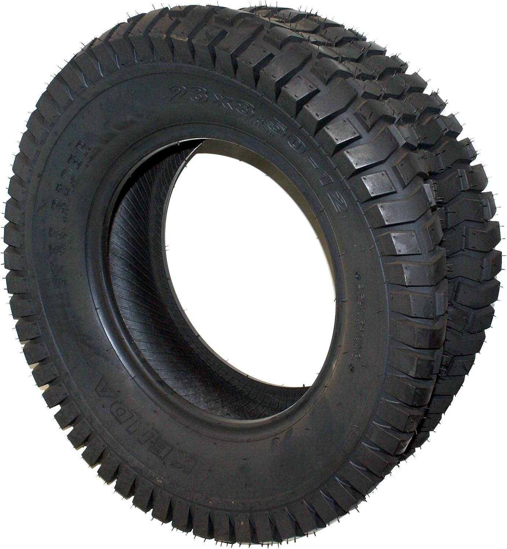 Martin Wheel 23x8.50-12 Kenda K358 Chevron Style Turf Tread Rider 2 Ply Tubeless Lawn Mower Garden Tractor Tire (1)