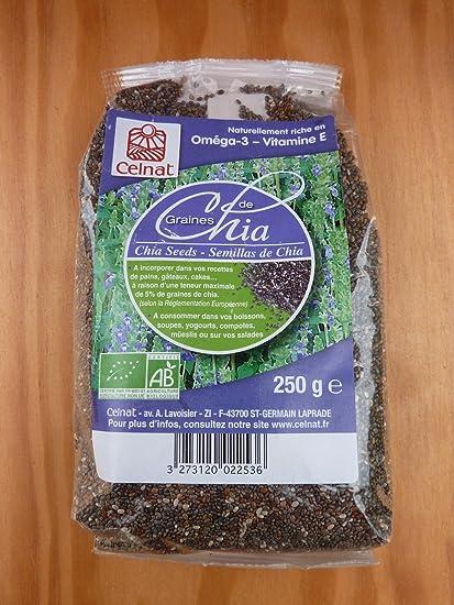 Gia - Semillas oscuro 250 g, celnat: Amazon.es: Salud y ...