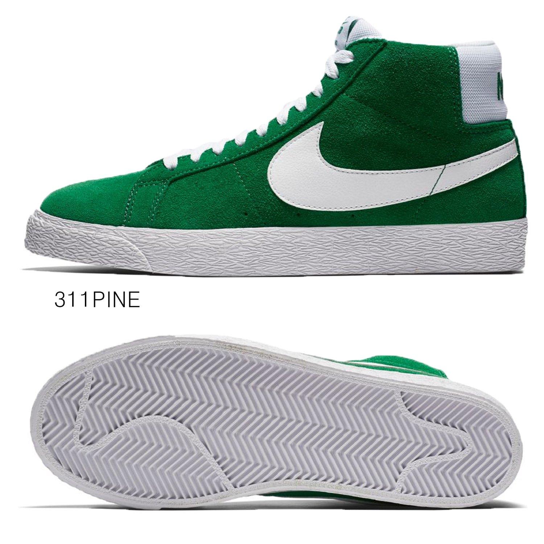 Nike SB Zoom Blazer Mid, Pino VerdeBianco, 7 m US: Amazon