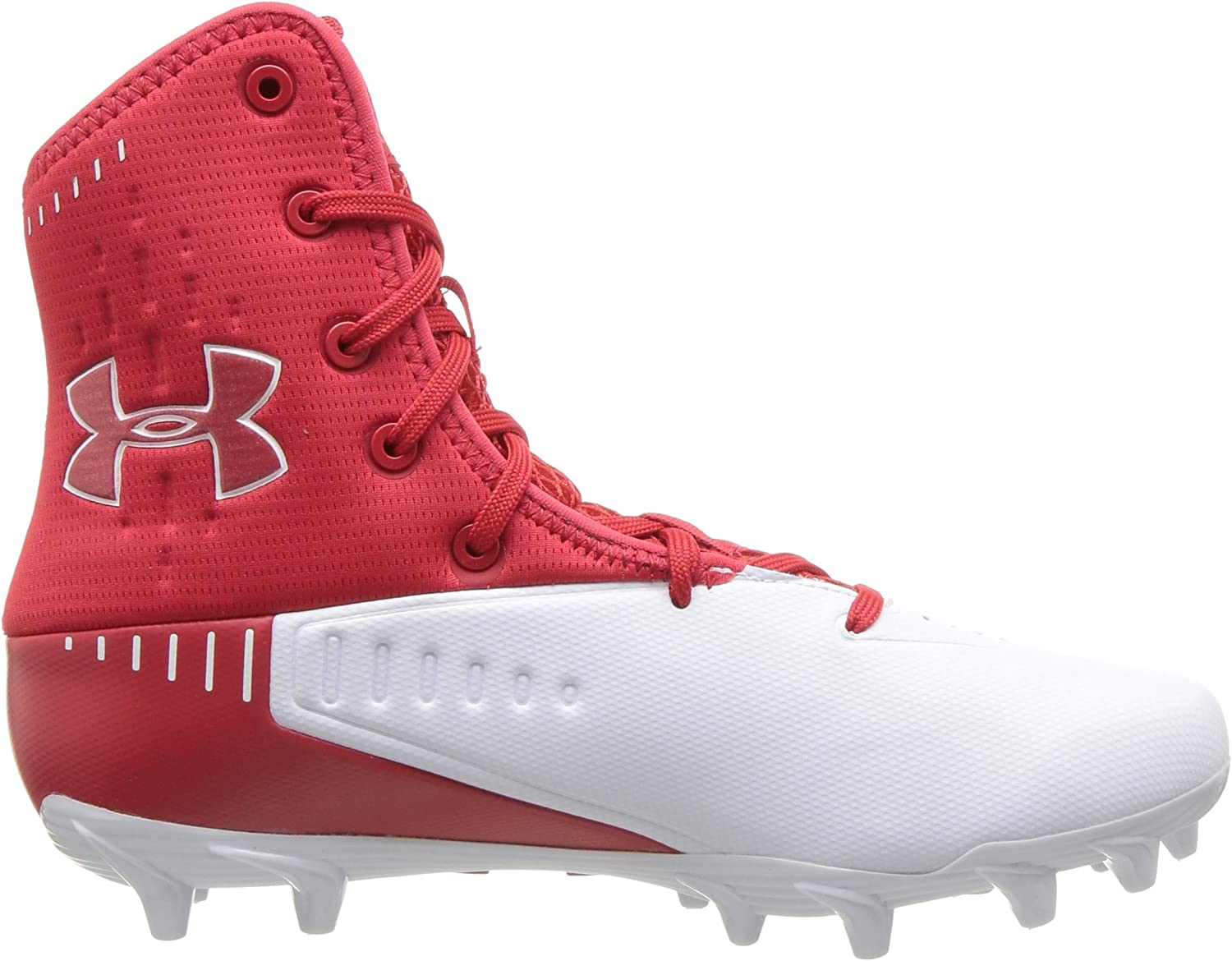 8.5M Under Armour Mens Highlight Select Mc Red High-Top Football Shoe