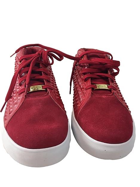 online store 23423 6c20b Nike Lebron XIII Lifestyle Scarpe da Basket, Men - Rosso Oro Bianco (