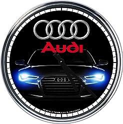 Wall Clock Audi 2