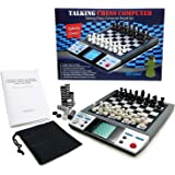 iSee ICORE Electronic Talking Chess Board Games 8 in 1 Talking Computer Chess set for kids adults