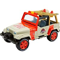 Jurassic World Matchbox Jeep Wrangler & Rescue Net