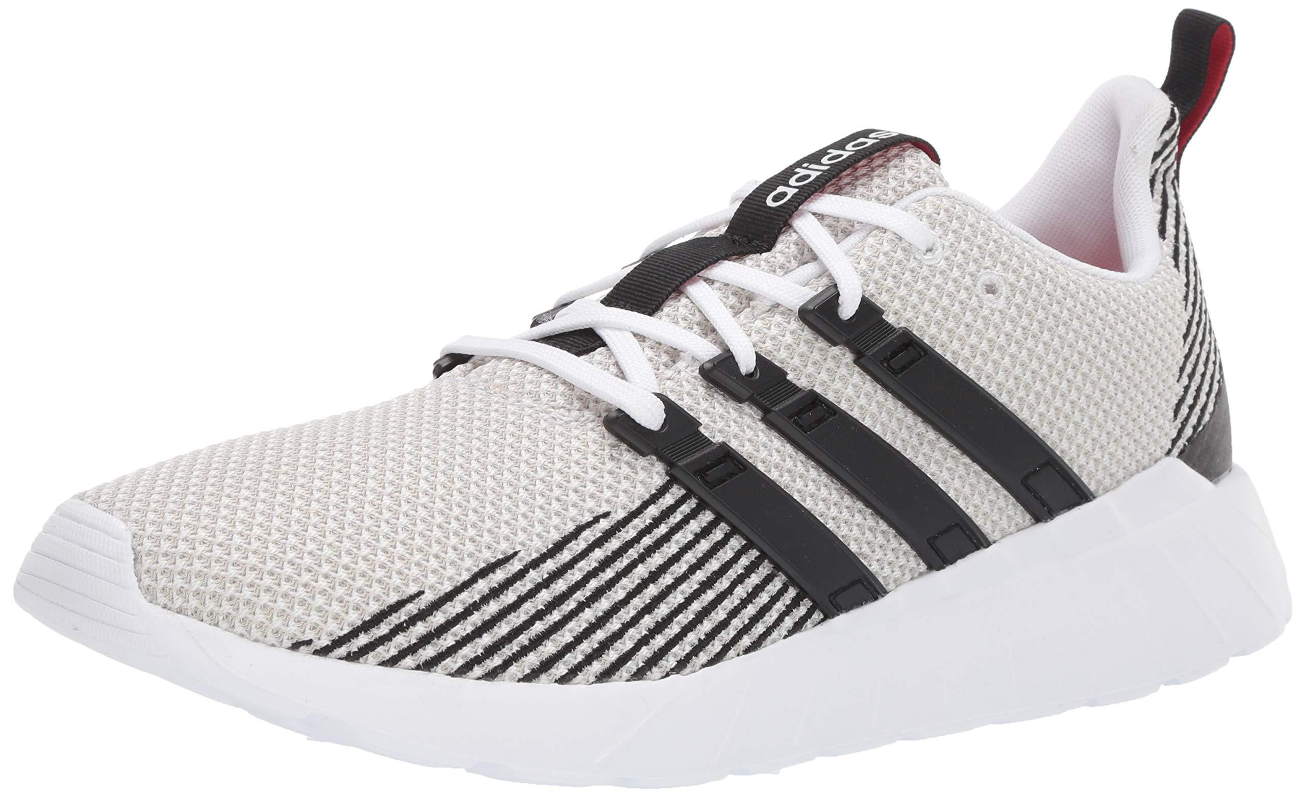 adidas Men's Questar Flow, Black/raw White, 11 M US by adidas
