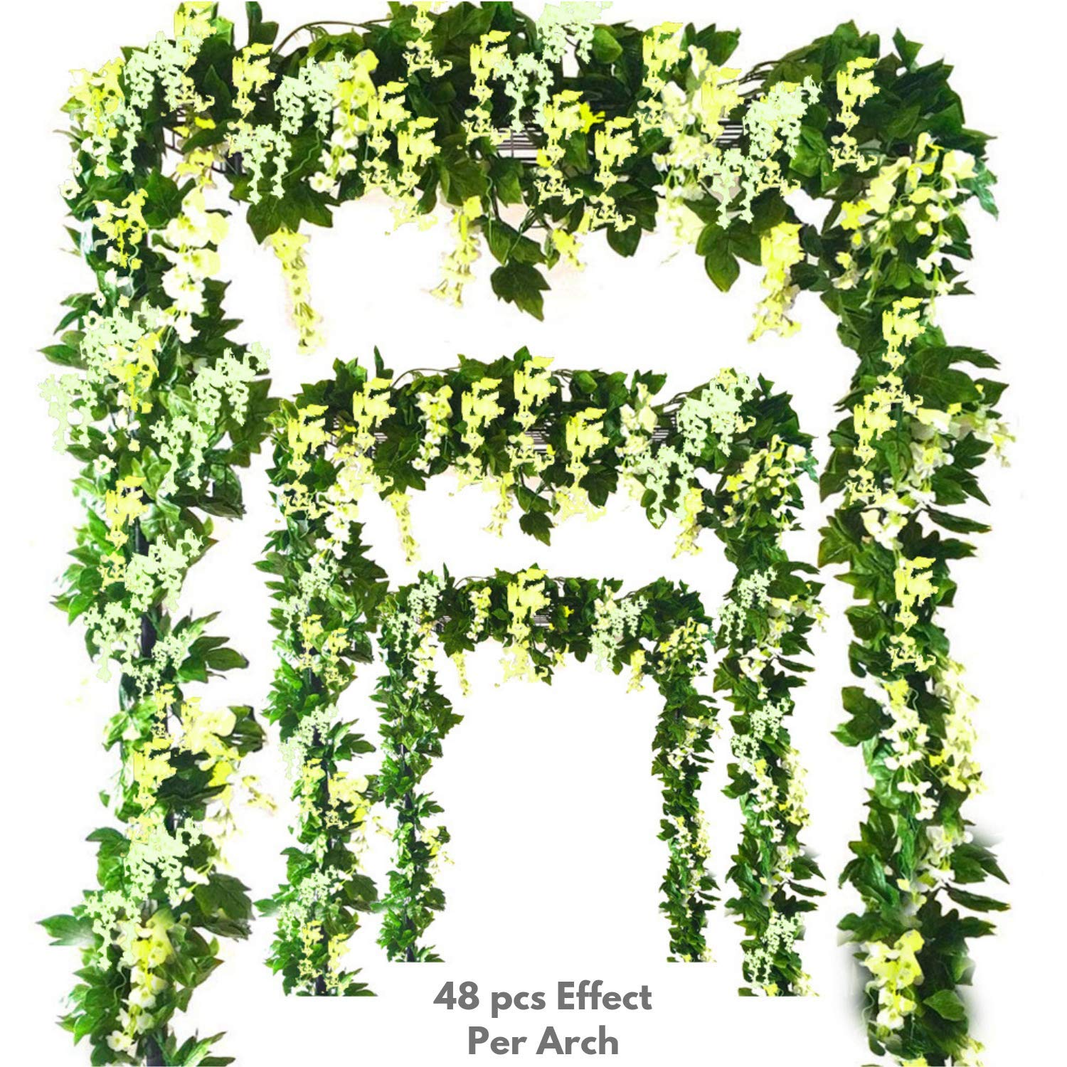 Miss-Bloom-Artificial-Wisteria-Vine-12-Pack-36-Ft-Spring-Hanging-Flowers-Dcor-Silk-Plants-Garlands-for-Sweet-Home-Kitchen-Wall-Fake-Plant-Rattan-for-Outdoor-Wedding-Party-Decorations-Green