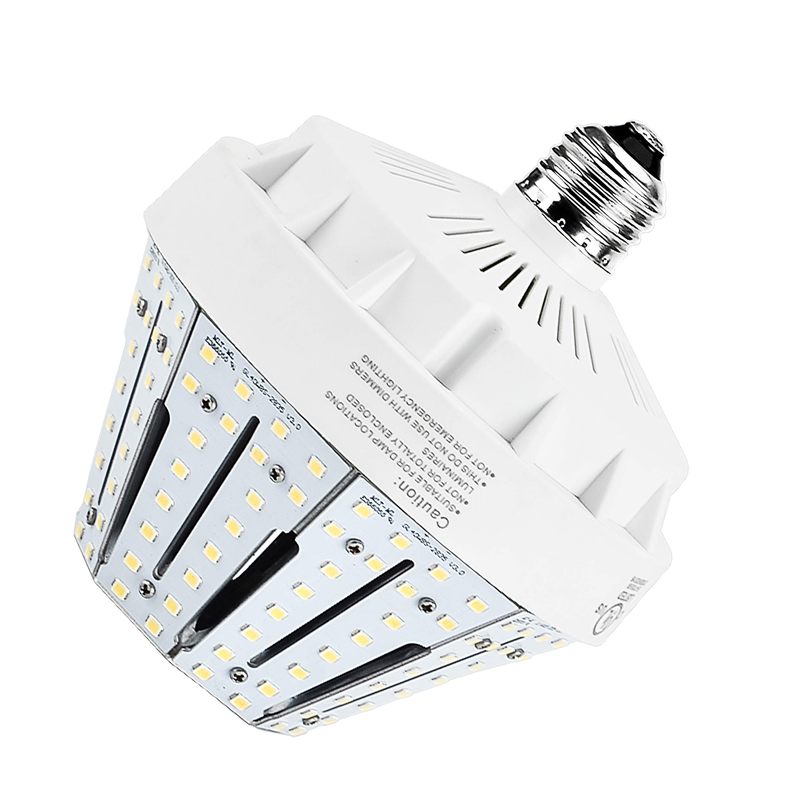 Hawks 30W LED Corn Light Bulb Equivalent to 100W E26 Medium Base Pure White 4000K Super Bright Garden Lighting Street Lamp 4946 Lumens for Porch Canopy Barn