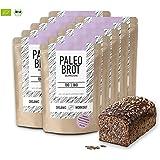 Organic Workout PALEO-BROT-BACKMISCHUNG 10er Pack | 100% Bio | gluten-frei | low-carb | Eiweiss-Brot | clean-eating | Fitness-Brot | hefefrei | ohne Getreide | hergestellt in Deutschland