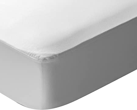 Pikolin Home - Protector de colchón punto, 100% algodón, impermeable y transpirable, 150x200cm-Cama 150 (Todas las medidas): Amazon.es: Hogar