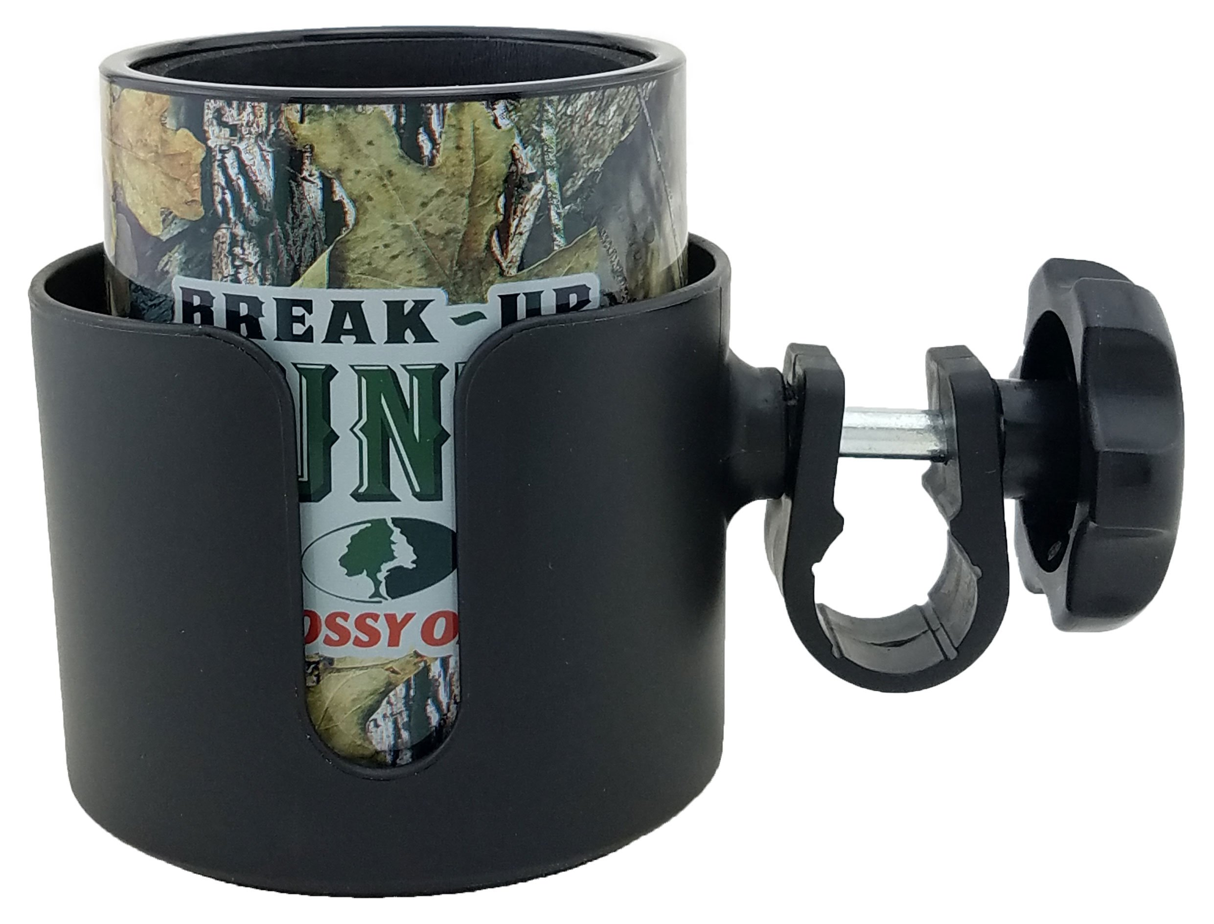 Keepzit Kooler Combo Pack Universal Cup Holder with Insulated Drink Holder 12 to 16.9 Ounce Cans and Bottles (Break-up Country)