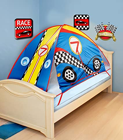 Buy 75 Race Car Mattress Bed Tent Topper (Fits Twin Beds) Online at Low Prices in India - Amazon.in  sc 1 st  Amazon.in & Buy 75 Race Car Mattress Bed Tent Topper (Fits Twin Beds) Online at ...