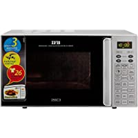 IFB 25 L Convection Microwave Oven (25SC3, Metallic Silver)
