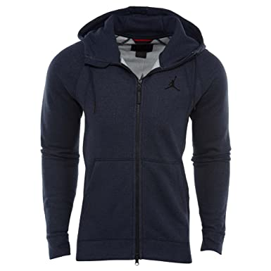 3bddae99feea Image Unavailable. Image not available for. Color  Jordan Sportswear Wings  Fleece Full-Zip Hoodie Mens Style   860196-451 Size