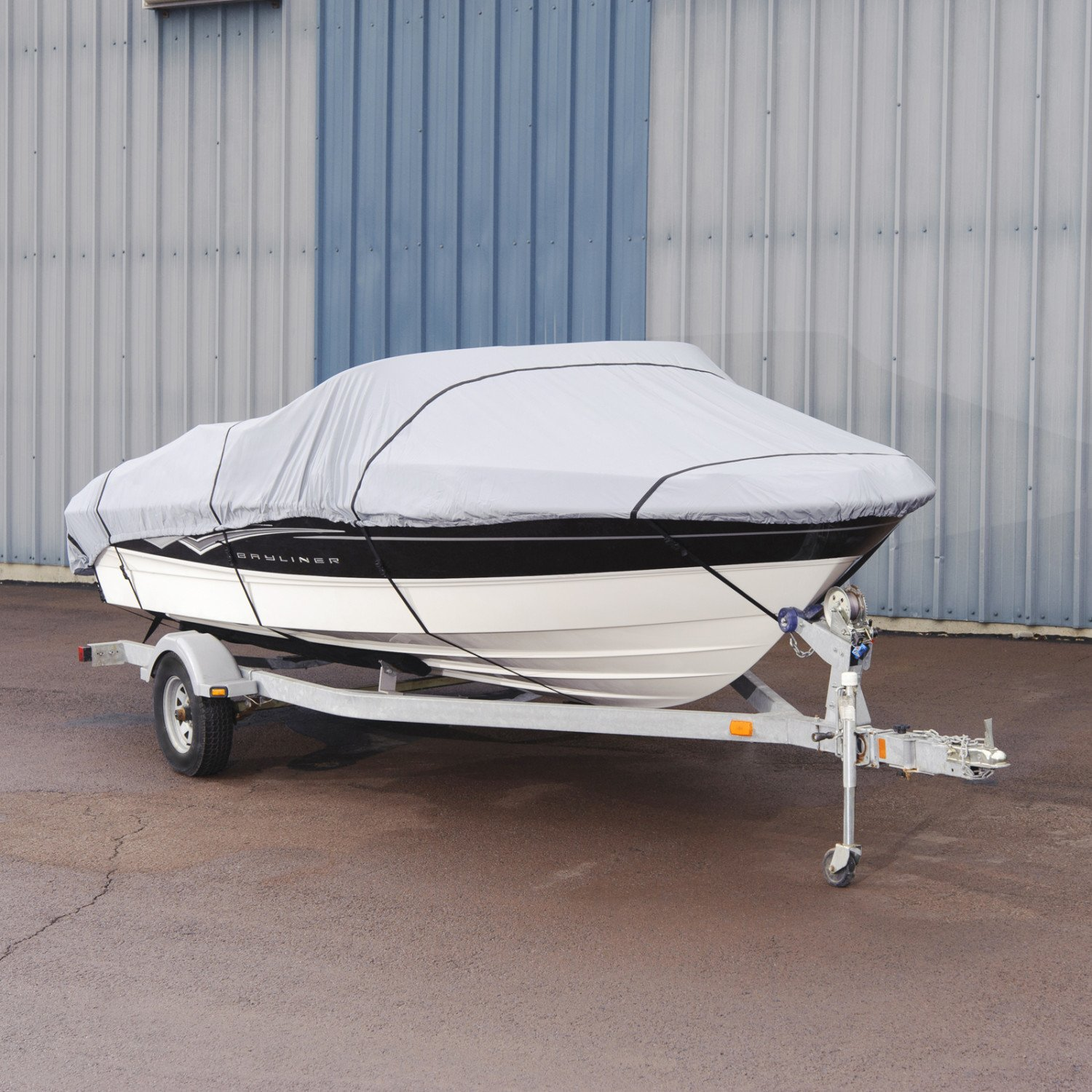 Budge 150 Denier Boat Cover fits V-Hull Runabout Boats B-150-X6 (20' on