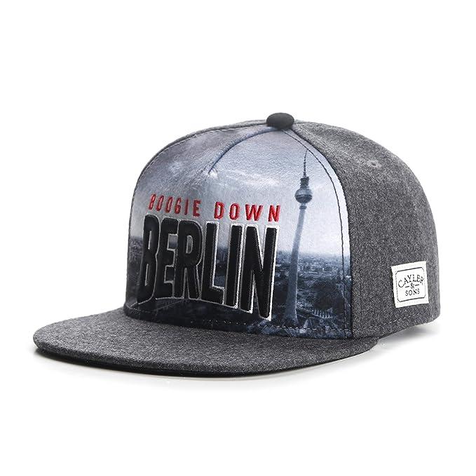 Cayler & Sons Mujeres Gorras / Gorra Snapback White Label Berlin Skyline