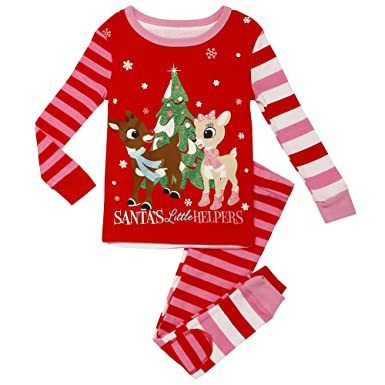 3c4e4ee95652 Amazon.com  Rashti   Rashti Girls  2-Piece Snug Fit Pajama Set ...