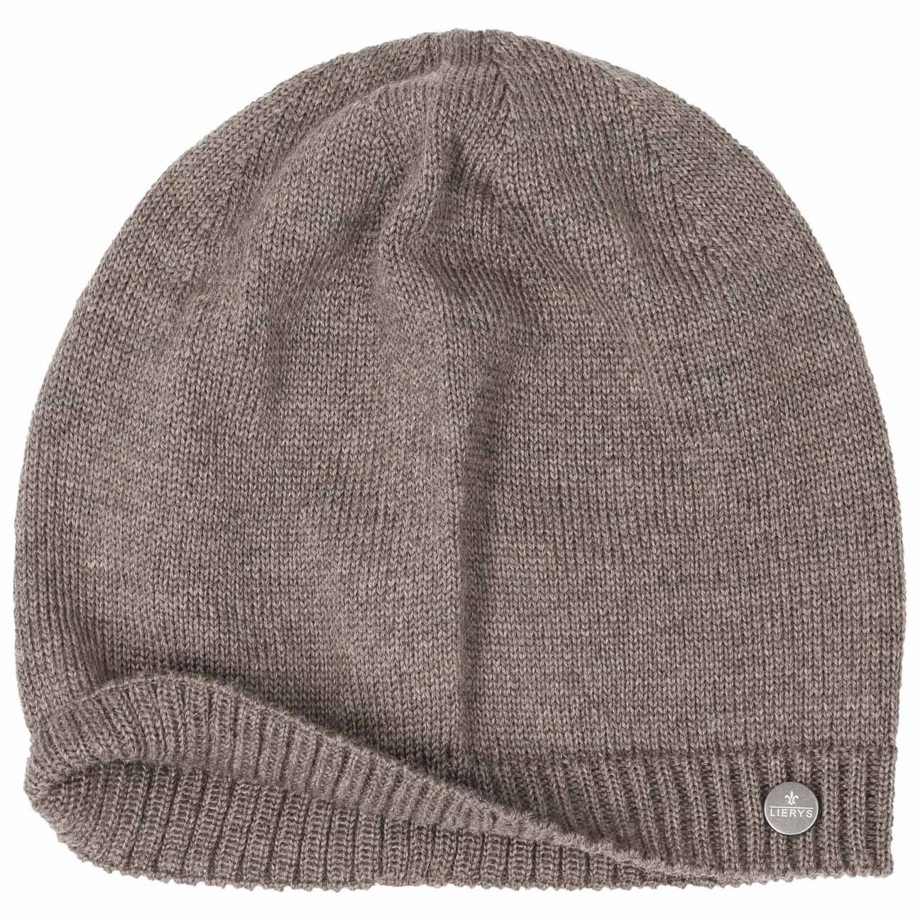 eff01722dc9ec Lierys Bonnet en Tricot Classic Merino by Femme/Homme | Made in Germany pour  l'hiver Printemps-ete | Taille Unique Marron: Amazon.fr: Vêtements et ...