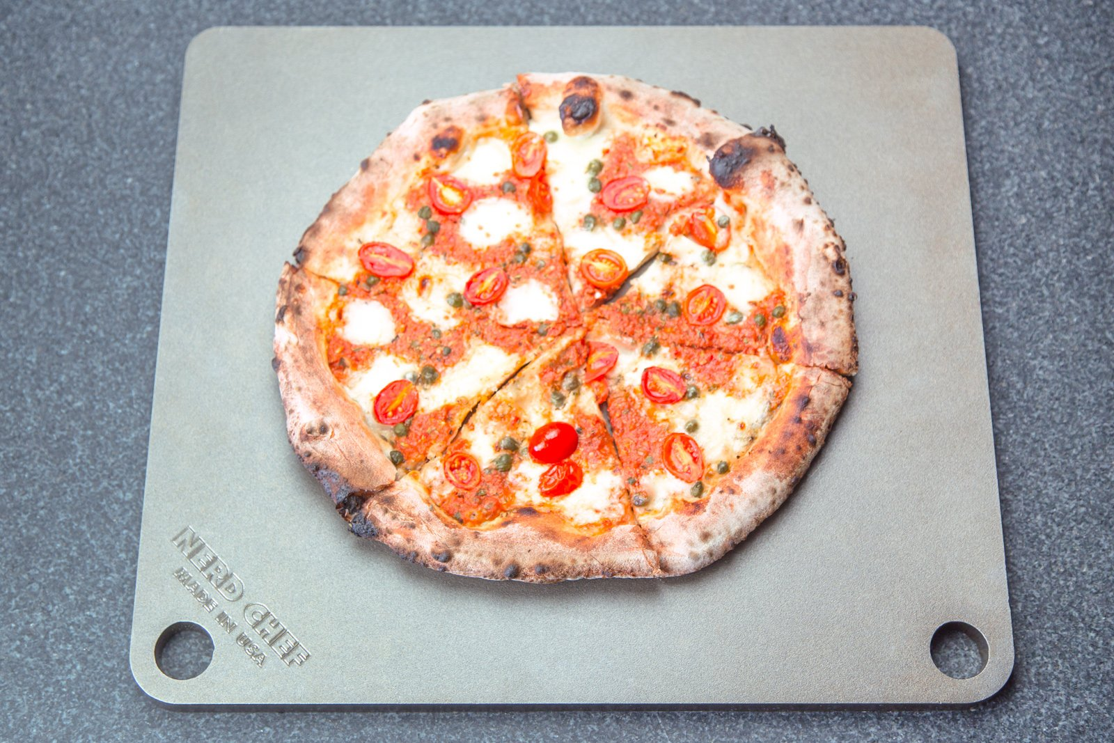 NerdChef Steel Stone - High-Performance Baking Surface for Pizza .50'' Thick - Ultimate by NerdChef (Image #9)