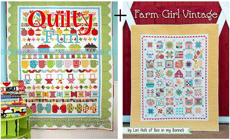 Farm Girl Lori Holt Bee in my Bonnet 2 Books by Lori Holt of Bee in My Bonnet