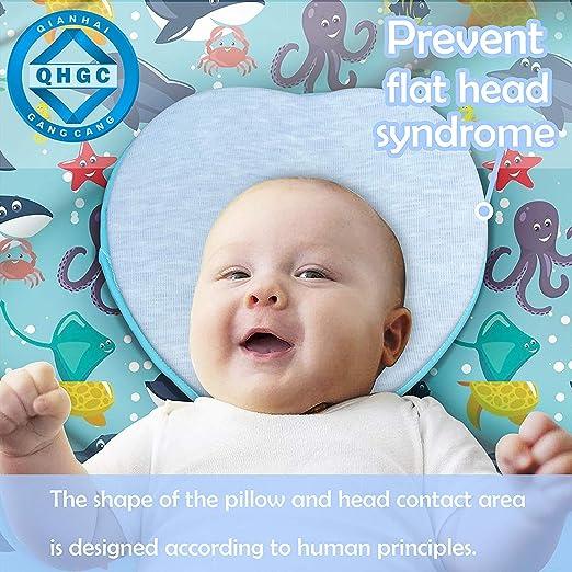 Amazon.com: AtoBaby Almohada moldeadora de cabeza de bebé ...