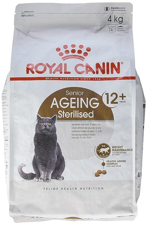 Royal Canin Comida para gatos Sterilised +12 4 Kg