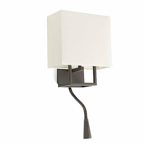 Faro Barcelona Vesper 29983 - Aplique (bombilla incluida) LED, 20W, metal y