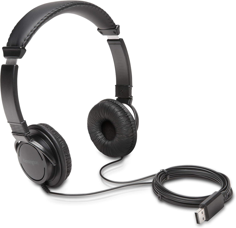 Kensington USB Hi-Fi Headphones (K97600WW)