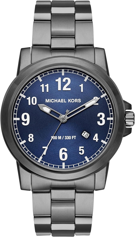 Michael Kors Reloj para Hombre de Cuarzo con Correa en Acero Inoxidable MK8499
