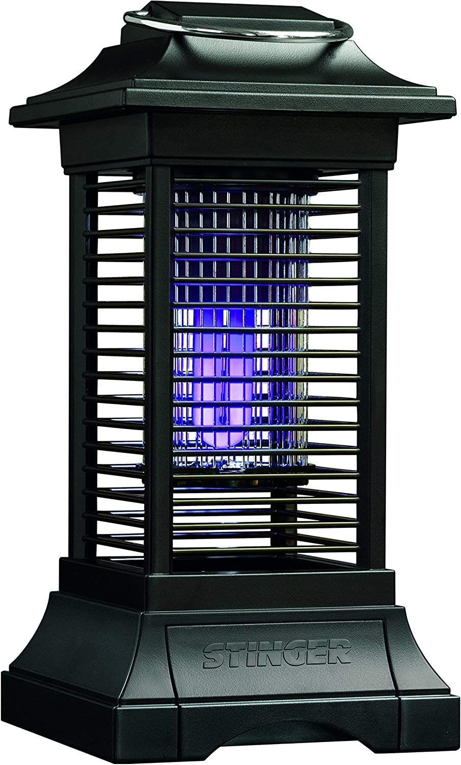 Stinger Cordless Rechargable Insect Zapper, Black (Renewed)