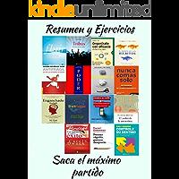 Resumen 15 libros: Fluir, una psicología de la felicidad, Tribus, el poder de los hábitos, Organízate con eficacia, Antifrágil, Las 48 Leyes del Poder, Controle su Destino, Cambia el Chip, Decídete