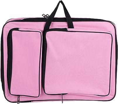 Zeichentasche A3 Transporttasche für Zeichenbrett Wasserdichte Zeichnungsmappe mit Schultergurt Tragbare Künstlermappe für Erwachsene Kinder