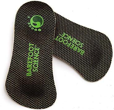 【Barefoot Science インソール7段階3/4タイプ】足底筋膜炎 扁平足 外反母趾 立ち仕事 ゴルフ 登山用