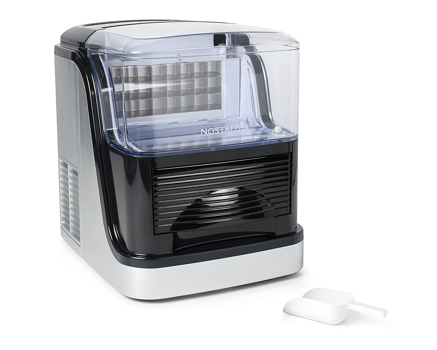 Nostalgia ICMCC33 Large Capacity Automatic Clear Ice Cube Maker